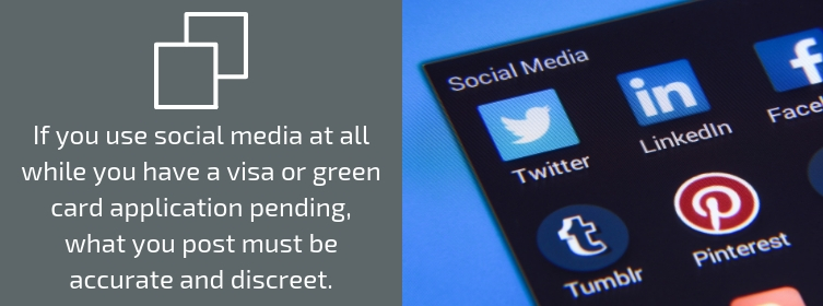 Social Media Use When Pending Green Card